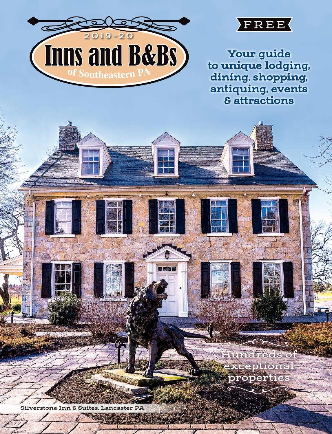Inns and B&Bs of Southeastern PA 2019-20 by Engle Printing