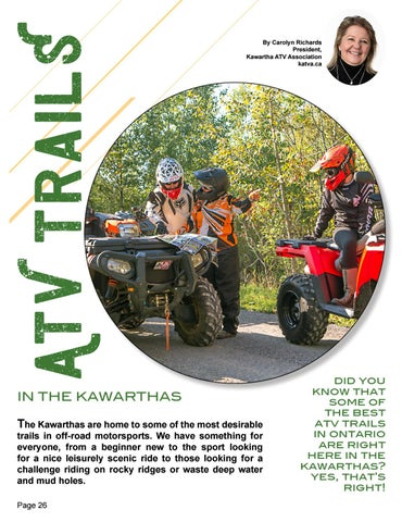 Page 26 of ATV Trails in the Kawarthas