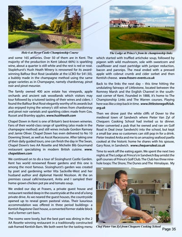 Page 35 of Global Getaway - Golfing and Eating in England