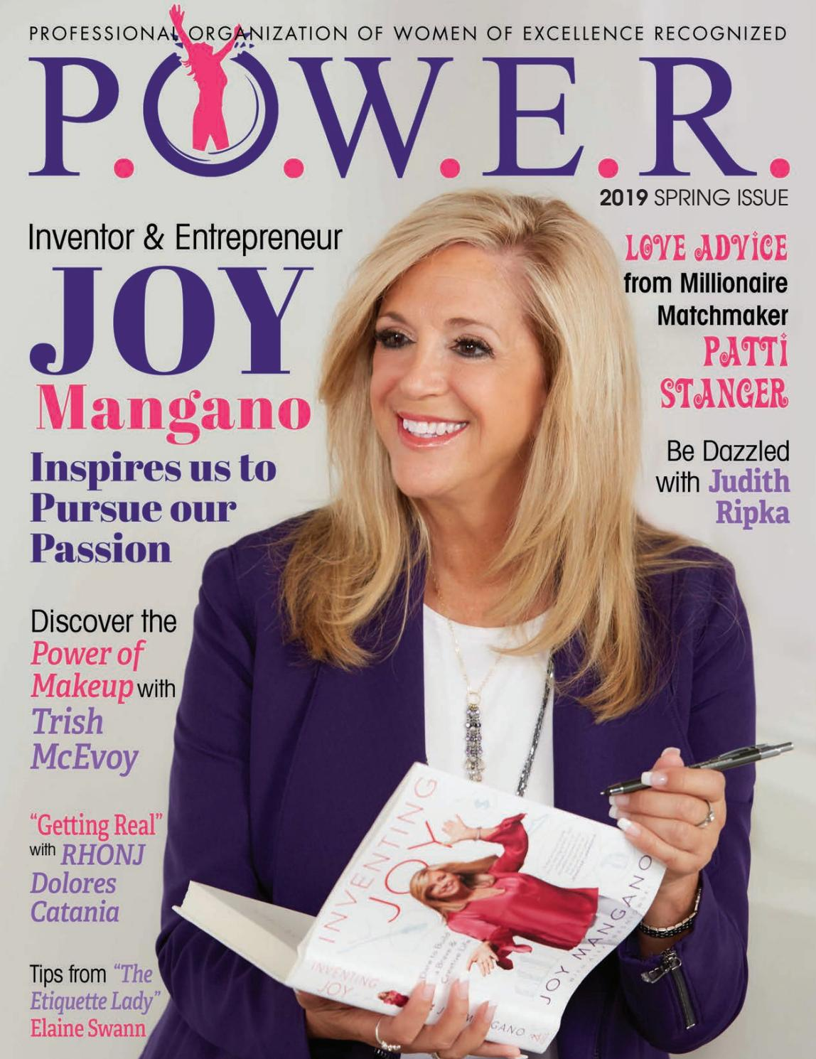 61902ed841b9 P.O.W.E.R. Magazine Spring 2019 by Professional Organization of Women of  Excellence Recognized - issuu