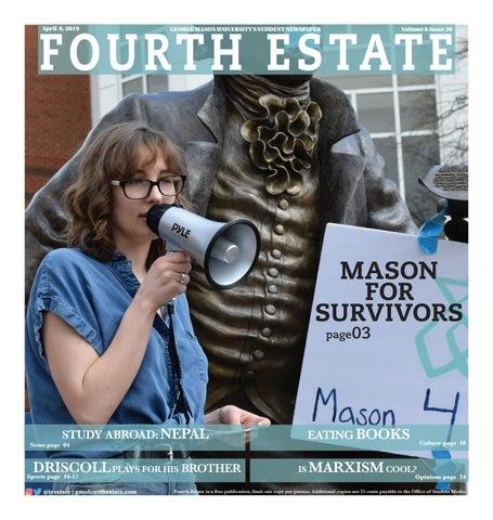 4 8 19 Fourth Estate By Student Media George Mason University Issuu