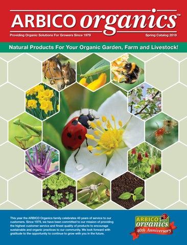 ARBICO Organics Spring 2019 by ARBICO Organics - issuu