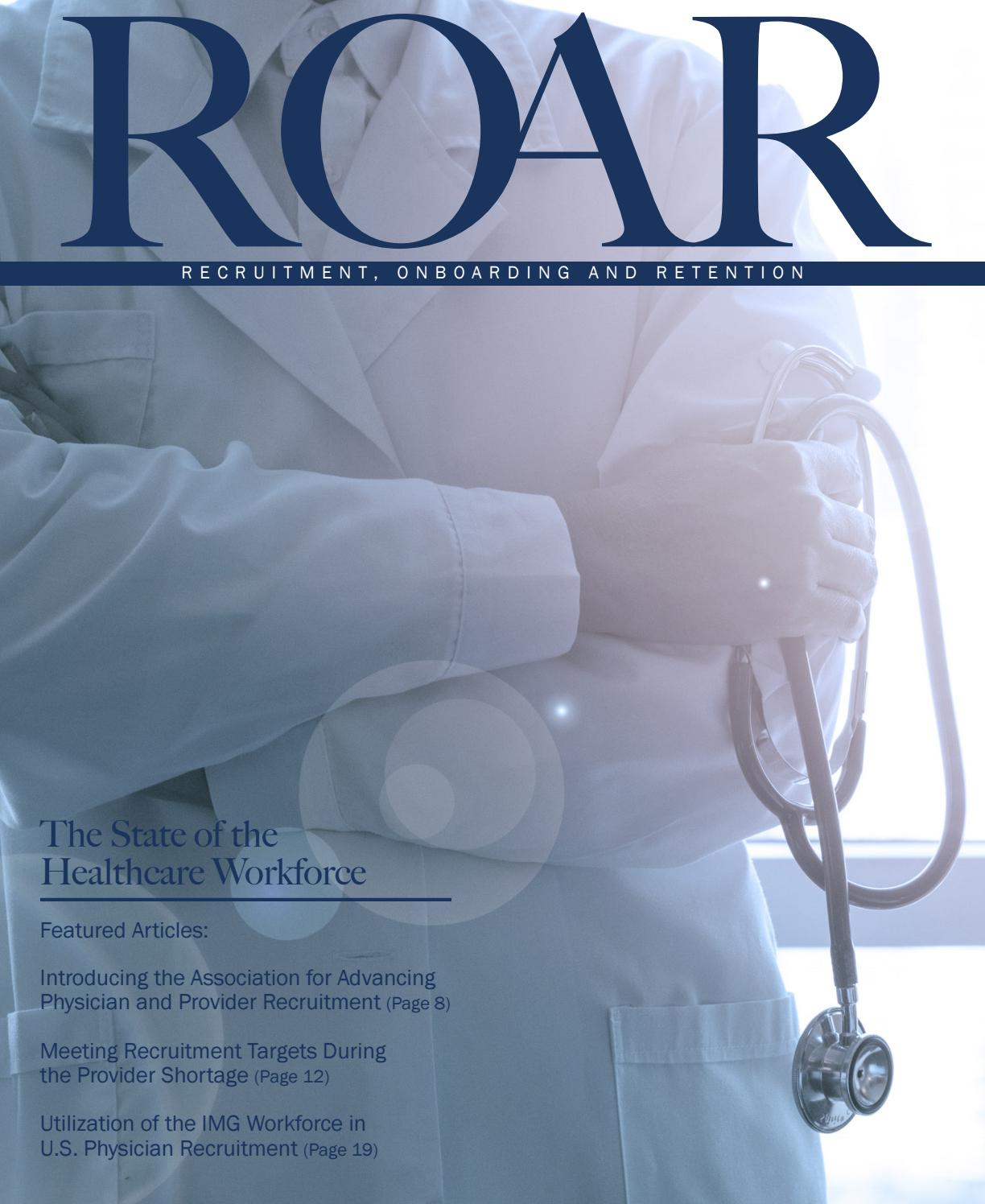 ROAR - 2019 Spring Issue by Association for Advancing