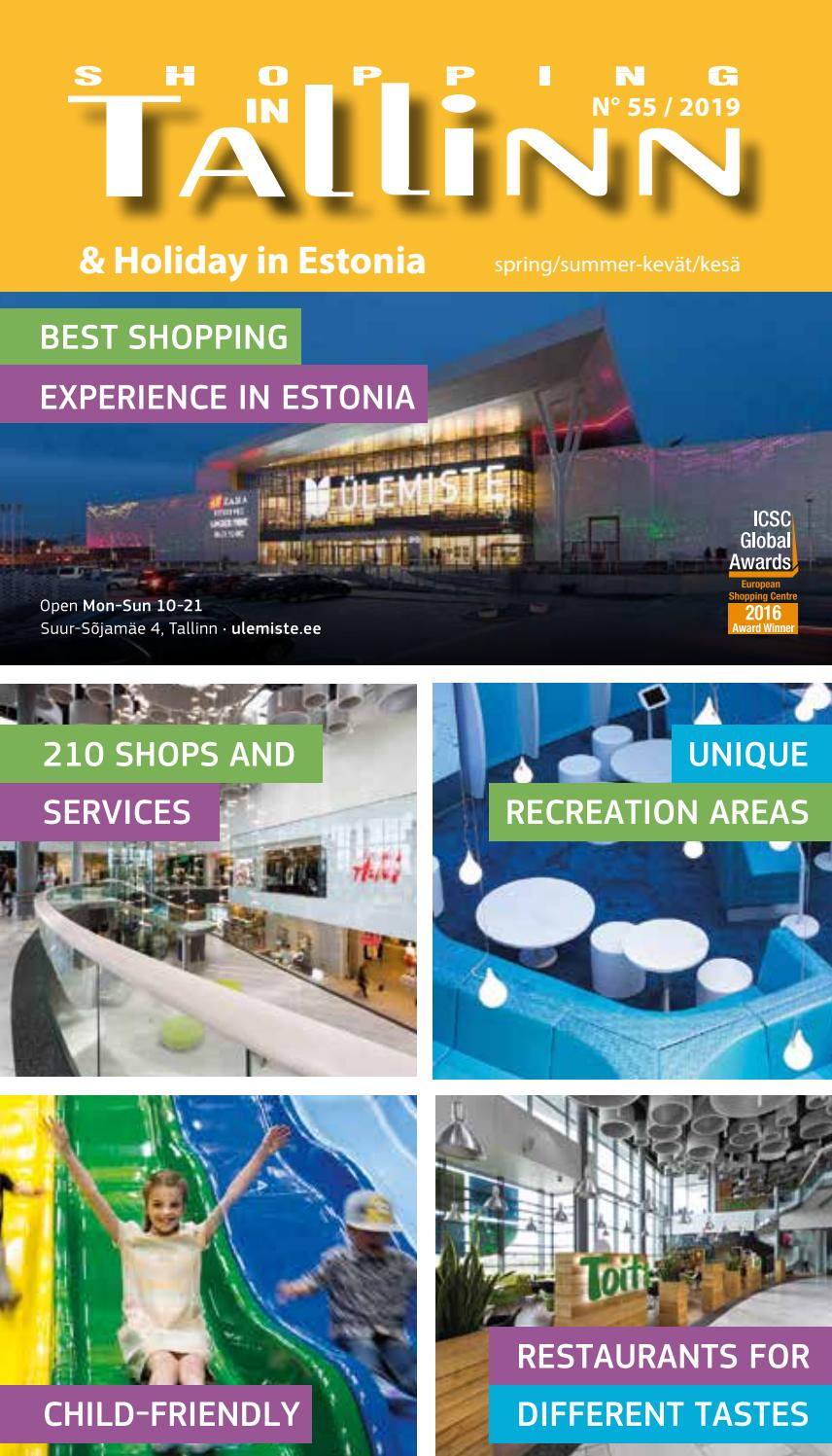 Shopping In Tallinn Holiday In Estonia By Ilona Issuu