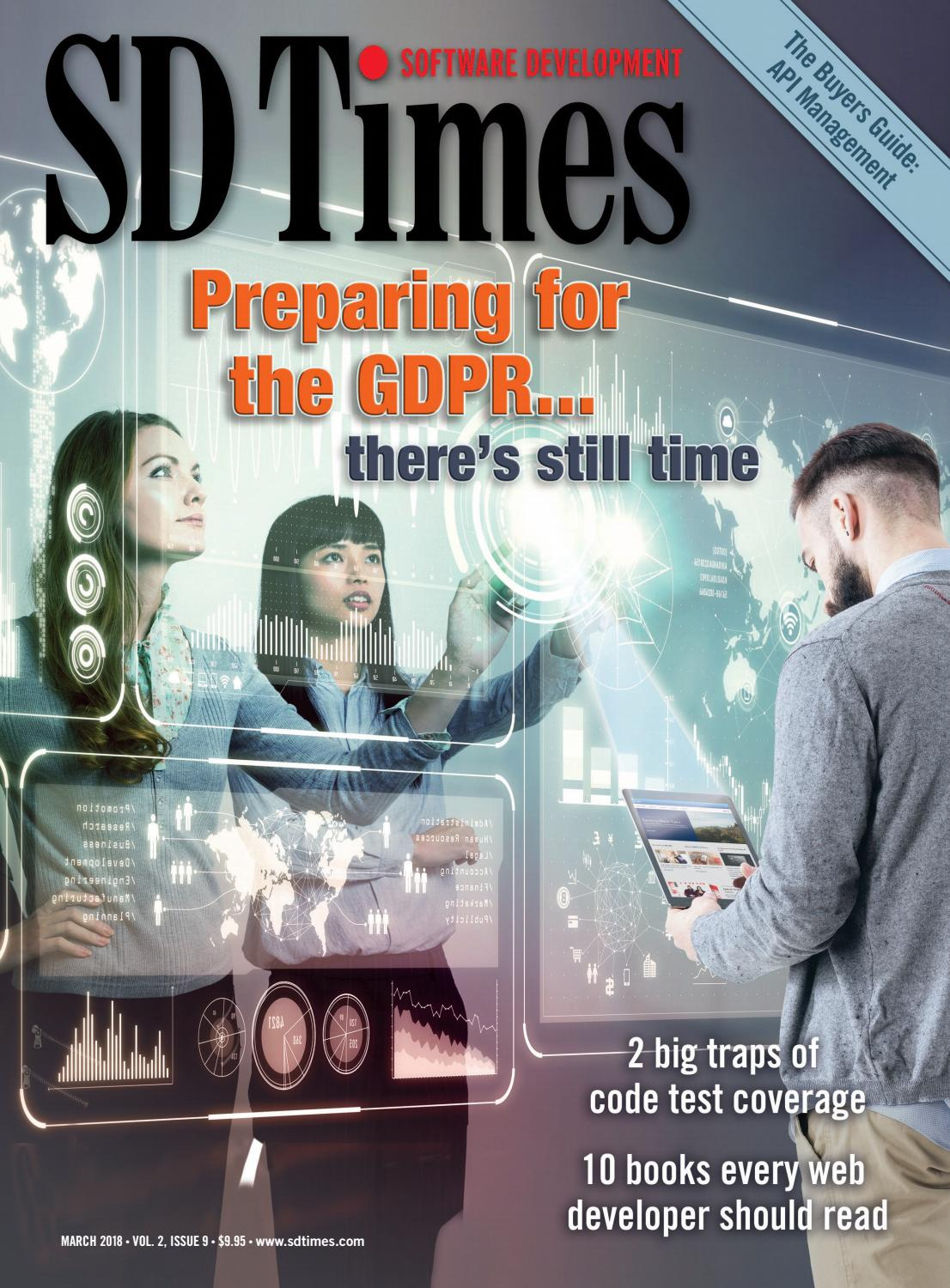 SD Times - March 2018 by d2emerge - issuu