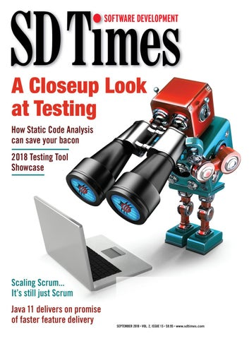 SD Times - September 2018 by d2emerge - issuu