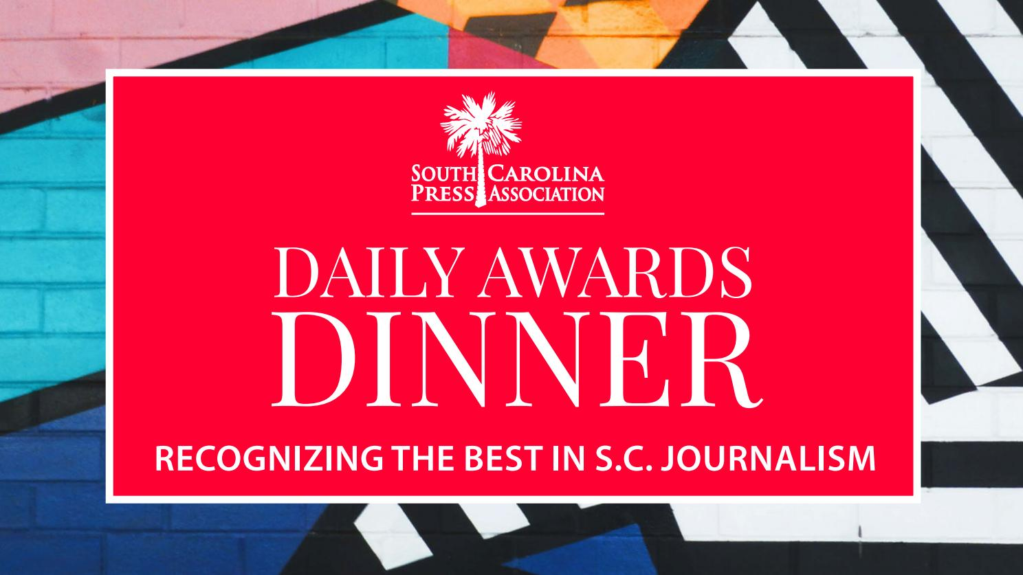 newest ba1d4 a4935 2019 Daily Awards Dinner Digital Presentation by S.C. Press Association -  issuu