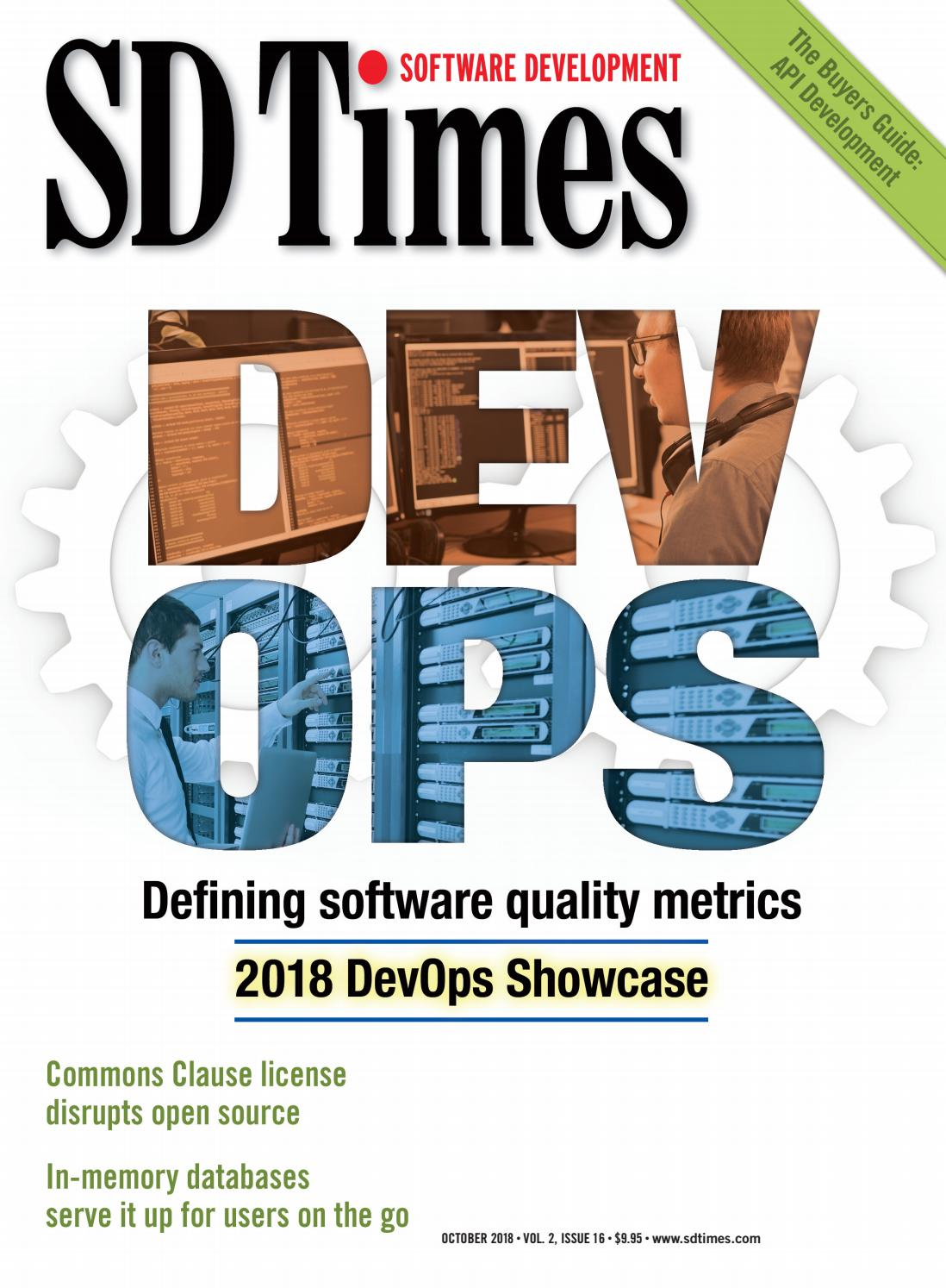 SD Times - October 2018 by d2emerge - issuu