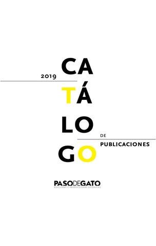 60727fc34 Catálogo Paso de Gato by Paso de Gato - issuu