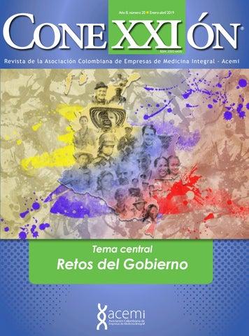 77a40626b Revista Conexxión   20 - Retos del Gobierno by ACEMI - issuu