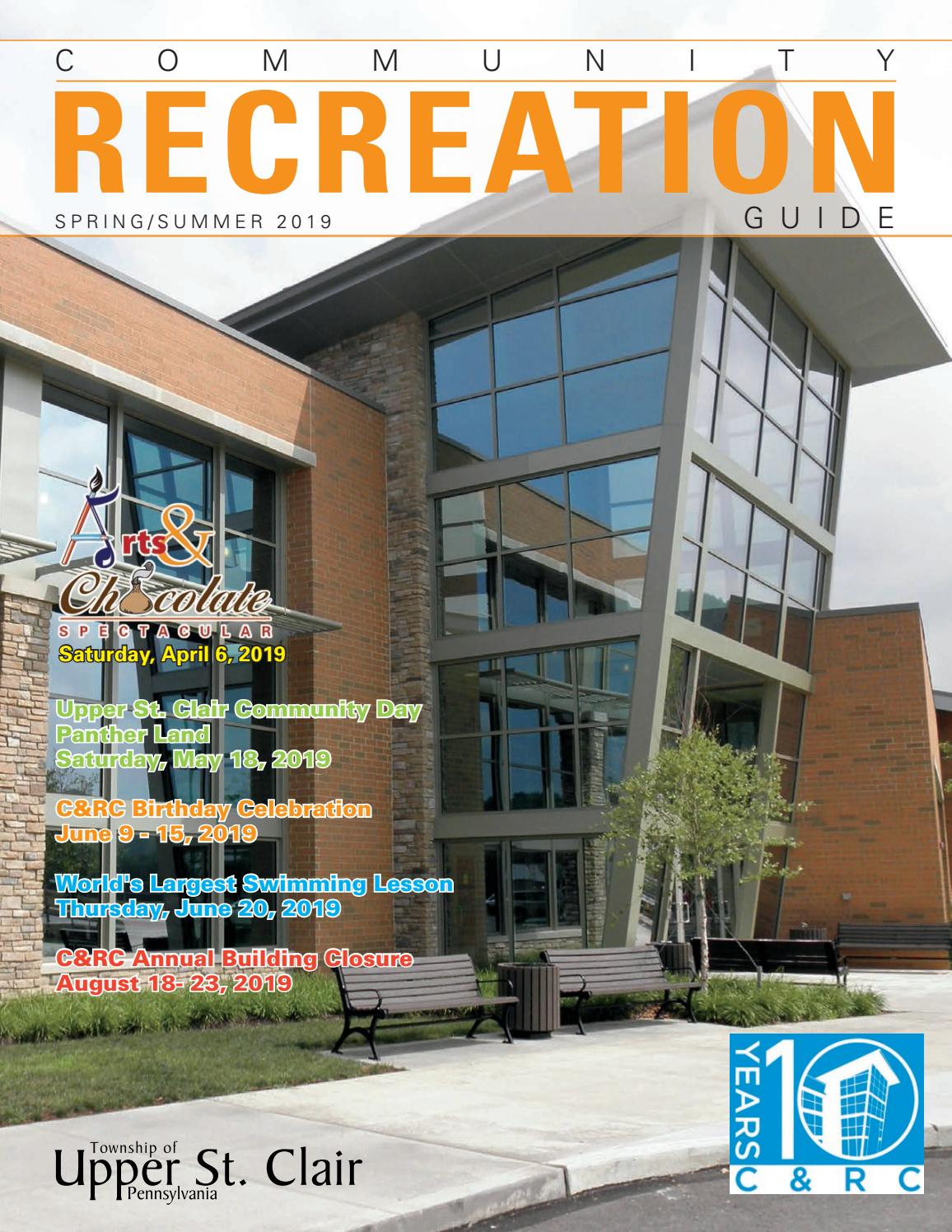 Township of Upper St  Clair Community Recreation Guide