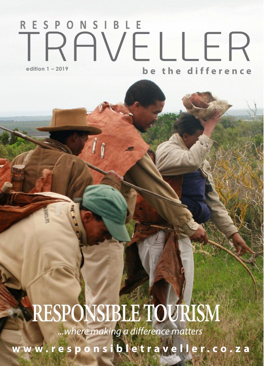 Edition 1 2019 By Responsible Traveller Issuu