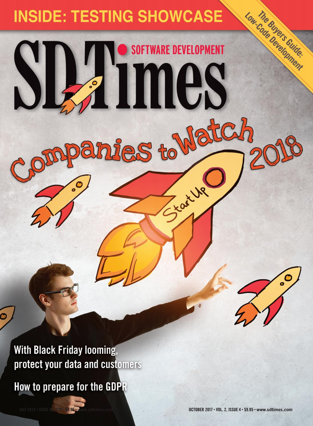 SD Times - October 2017 by d2emerge - issuu