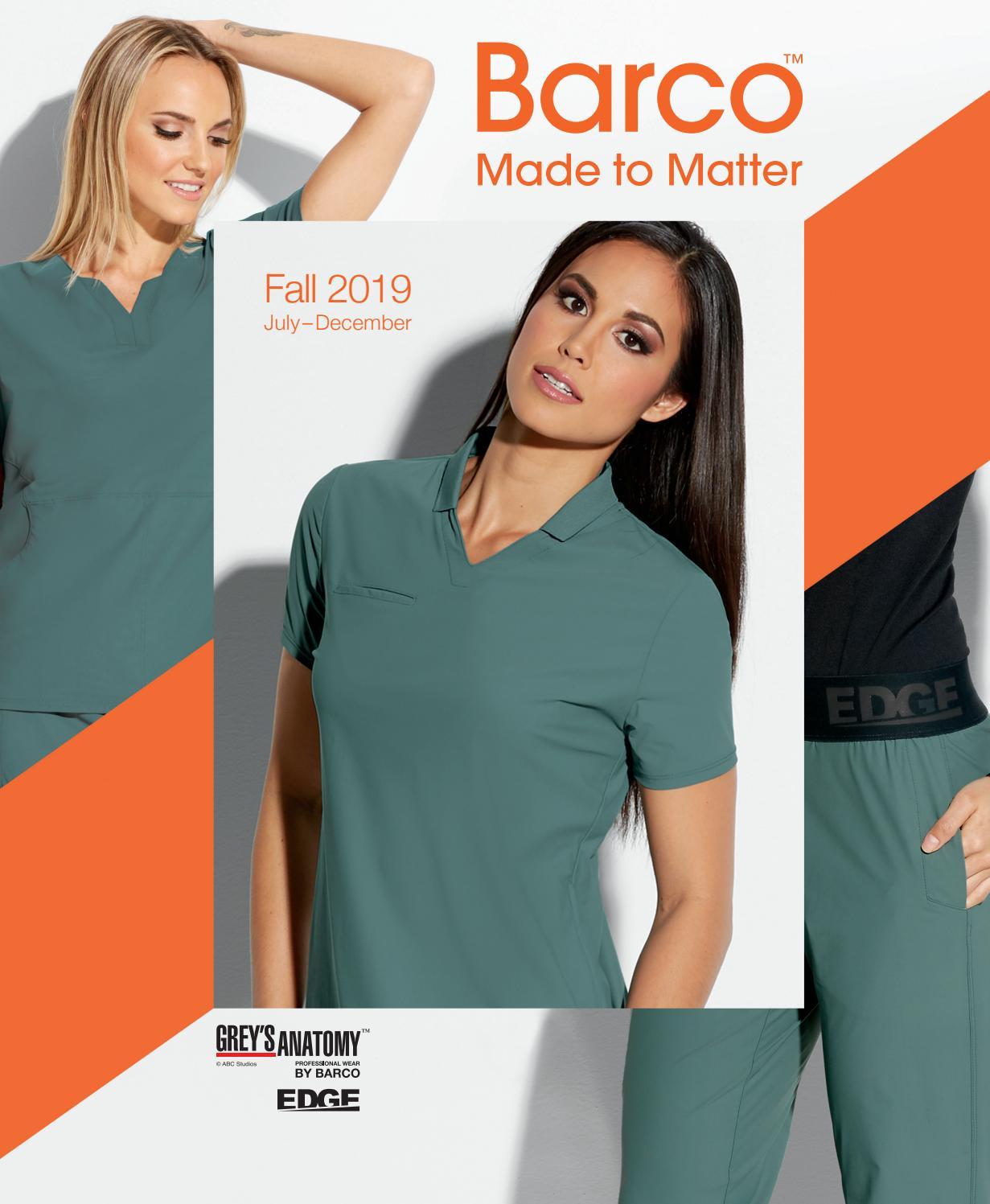 Women/'s Mock Wrap Stretch Printed Medical Scrub Top Paisleys XS S M L XL 2XL