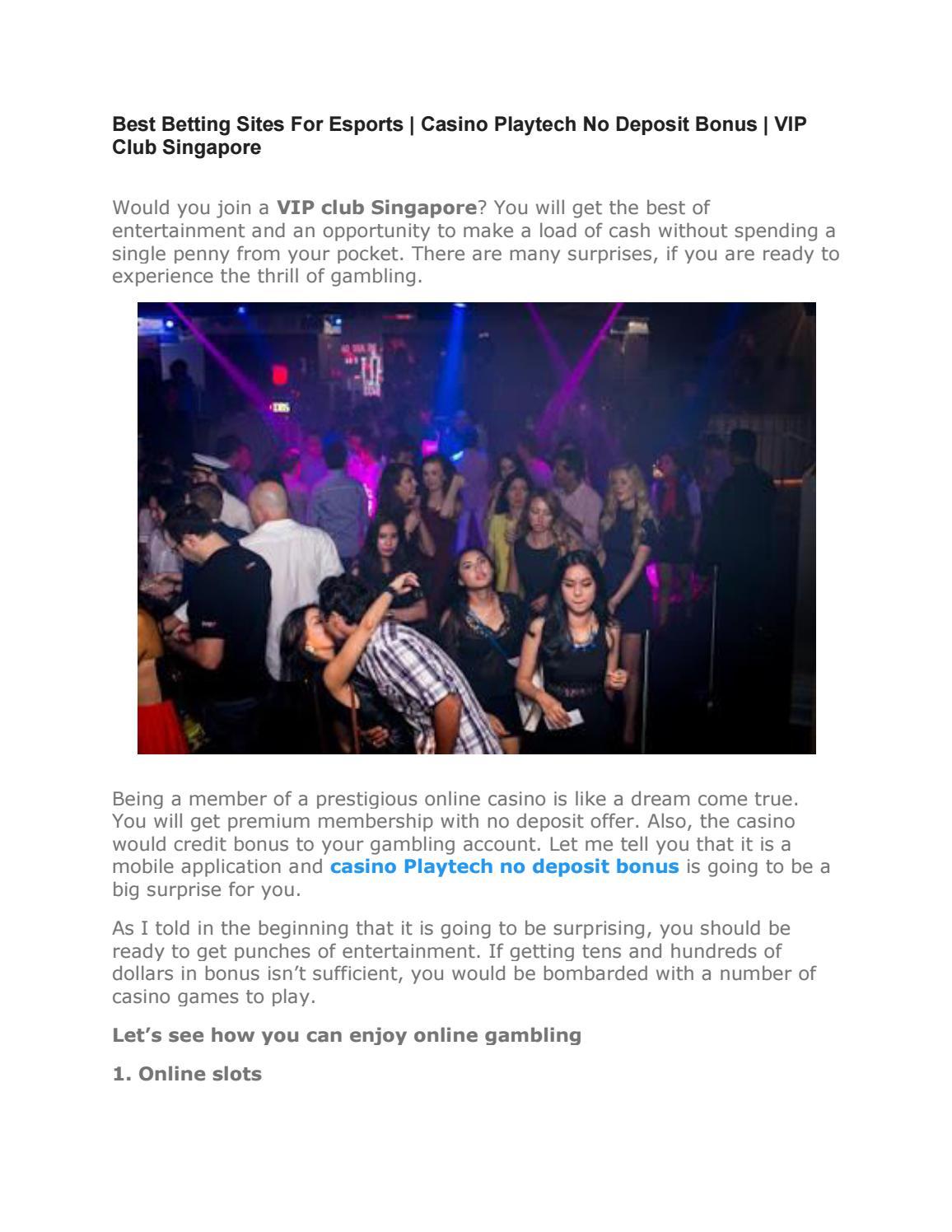 Vip Club Singapore By Casinoplaysg Issuu