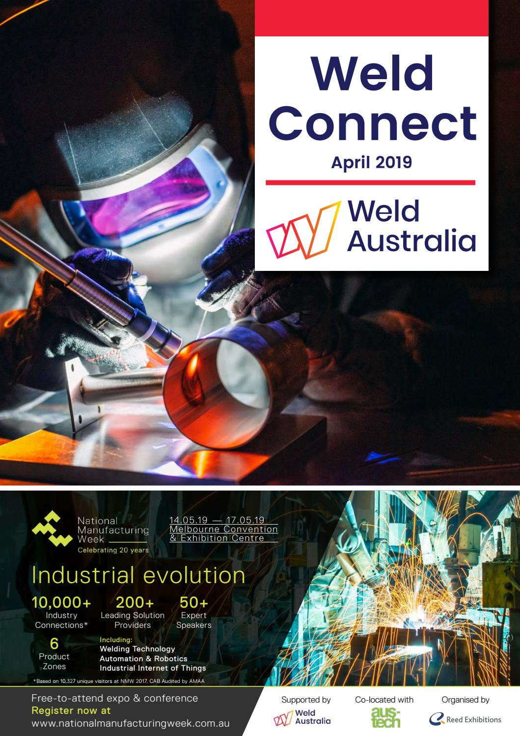 Weld Connect April 2019 by Weld Australia - issuu