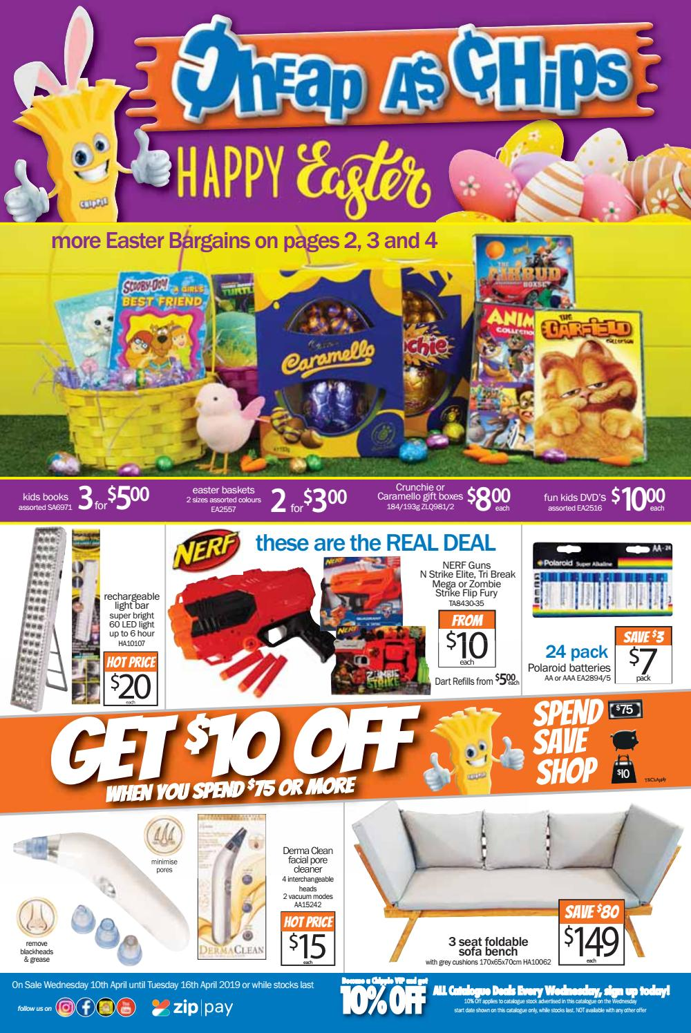 April 10th 2019 8 Page Catalogue By Cheap As Chips Issuu