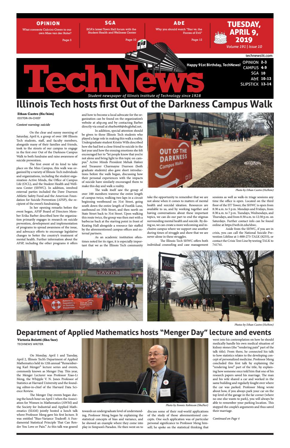 Volume 191 Issue 10 by TechNews - issuu
