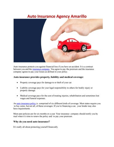 Alfa Auto Insurance >> Auto Insurance Agency Amarillo By Adamsinsurance Issuu