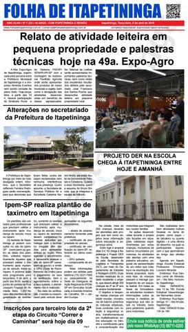 Folha de Itapetininga 09/04/2019 (Terca-feira)
