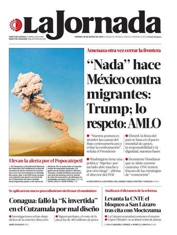 c4a1556f3 La Jornada, 03/29/2019 by La Jornada - issuu