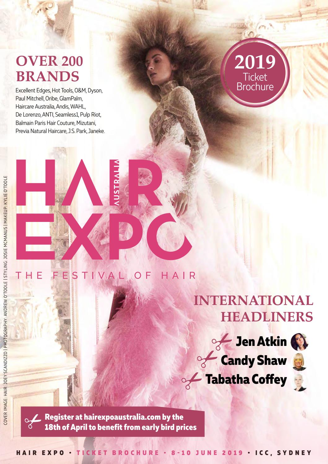 Hair Expo Australia 2019 - Ticket Brochure by Reed Exhibitions AU