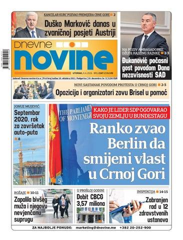 41b0847d4fba Dnevne novine 9. april 2019. by Dnevne Novine - issuu