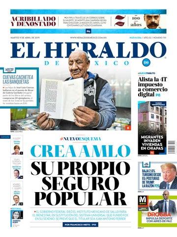 e485f0af7 Martes 9 de abril de 2019 by El Heraldo de México - issuu