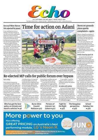 7433d1465c5ef4 The Byron Shire Echo – Issue 33.42 – March 27, 2019 by Echo ...