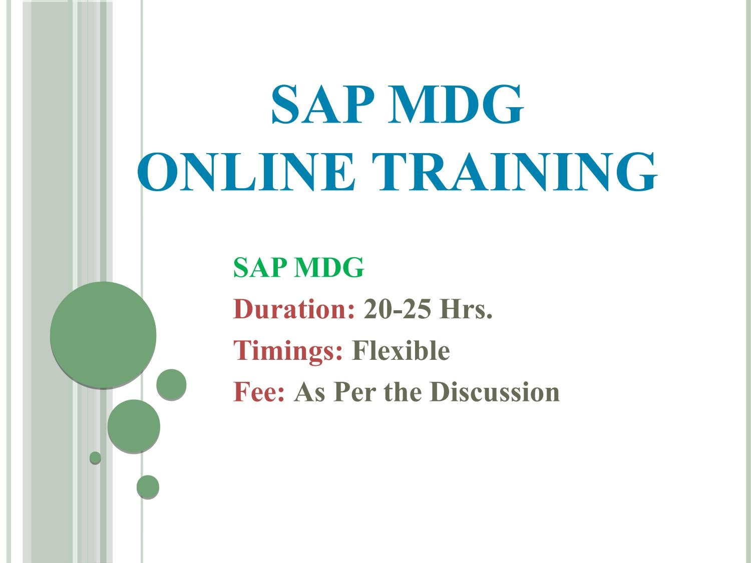 SAP Master Data Management PPT by shruti allentics - issuu