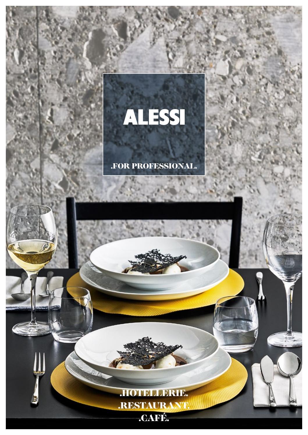 Set de 6 Pi/èces Alessi Reb09//2 Ovale Fourchette de Table en Acier Inoxydable 18//10 Brillant