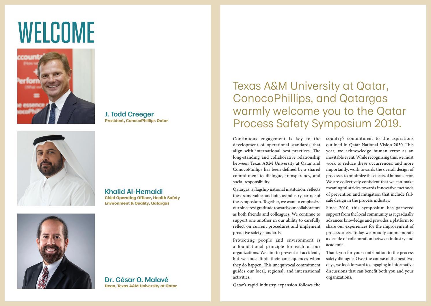 QPSS 2019 by Texas A&M at Qatar - issuu