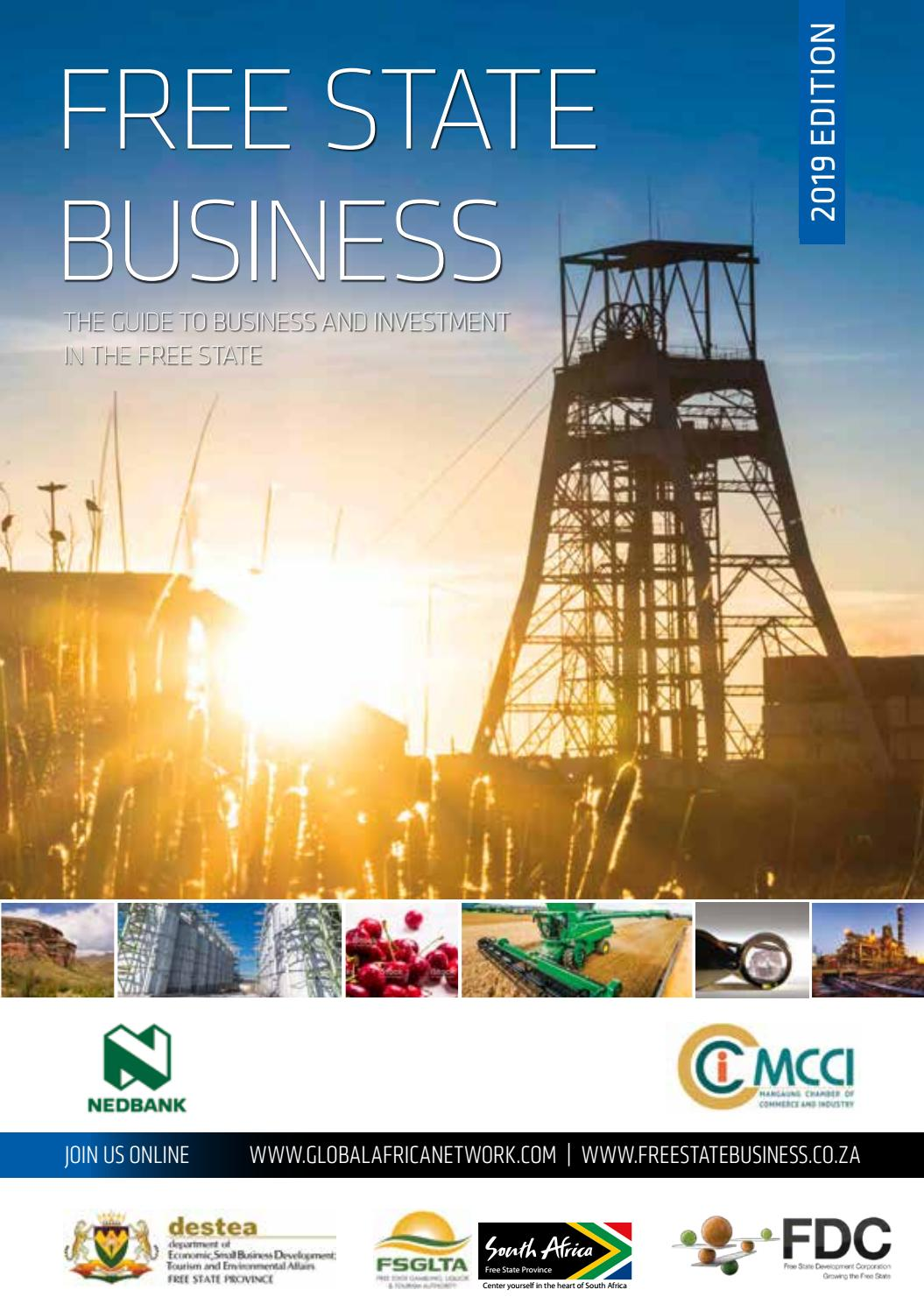 Free State Business 2019 by Global Africa Network - issuu