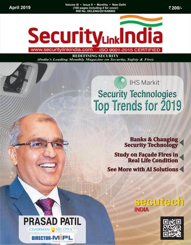 SecurityLink India Magazine April 2019 by Security Link