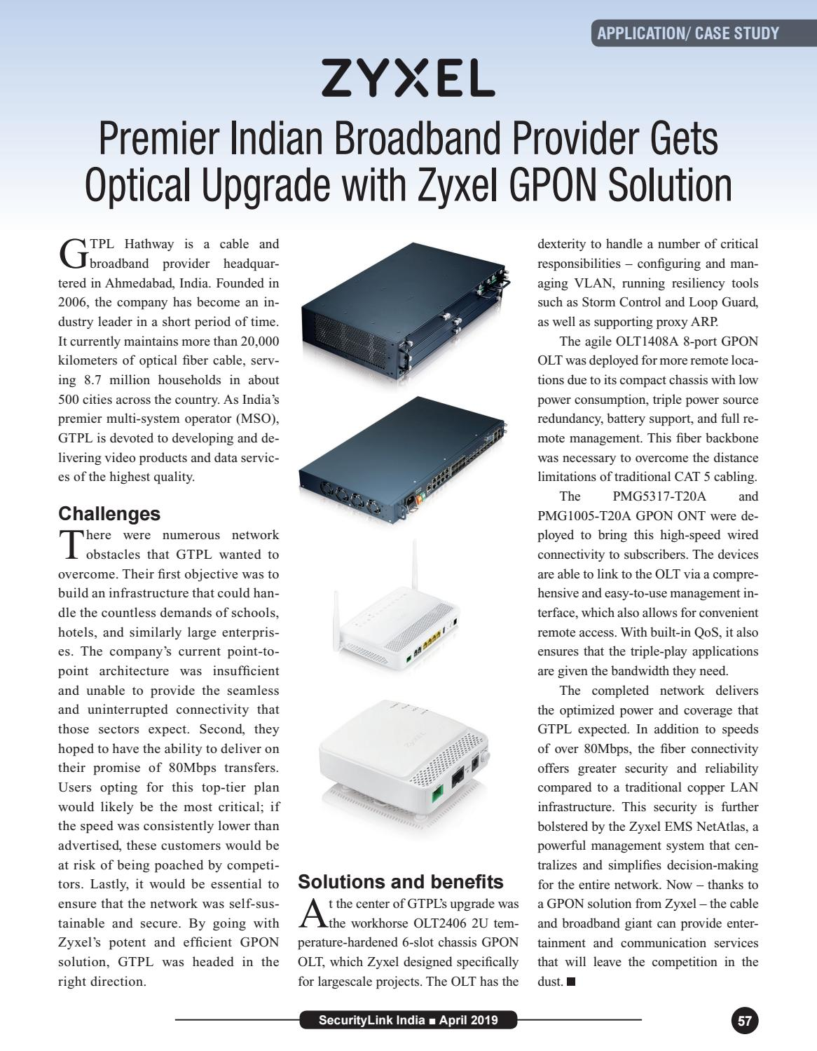 SecurityLink India Magazine April 2019 by Security Link India - issuu