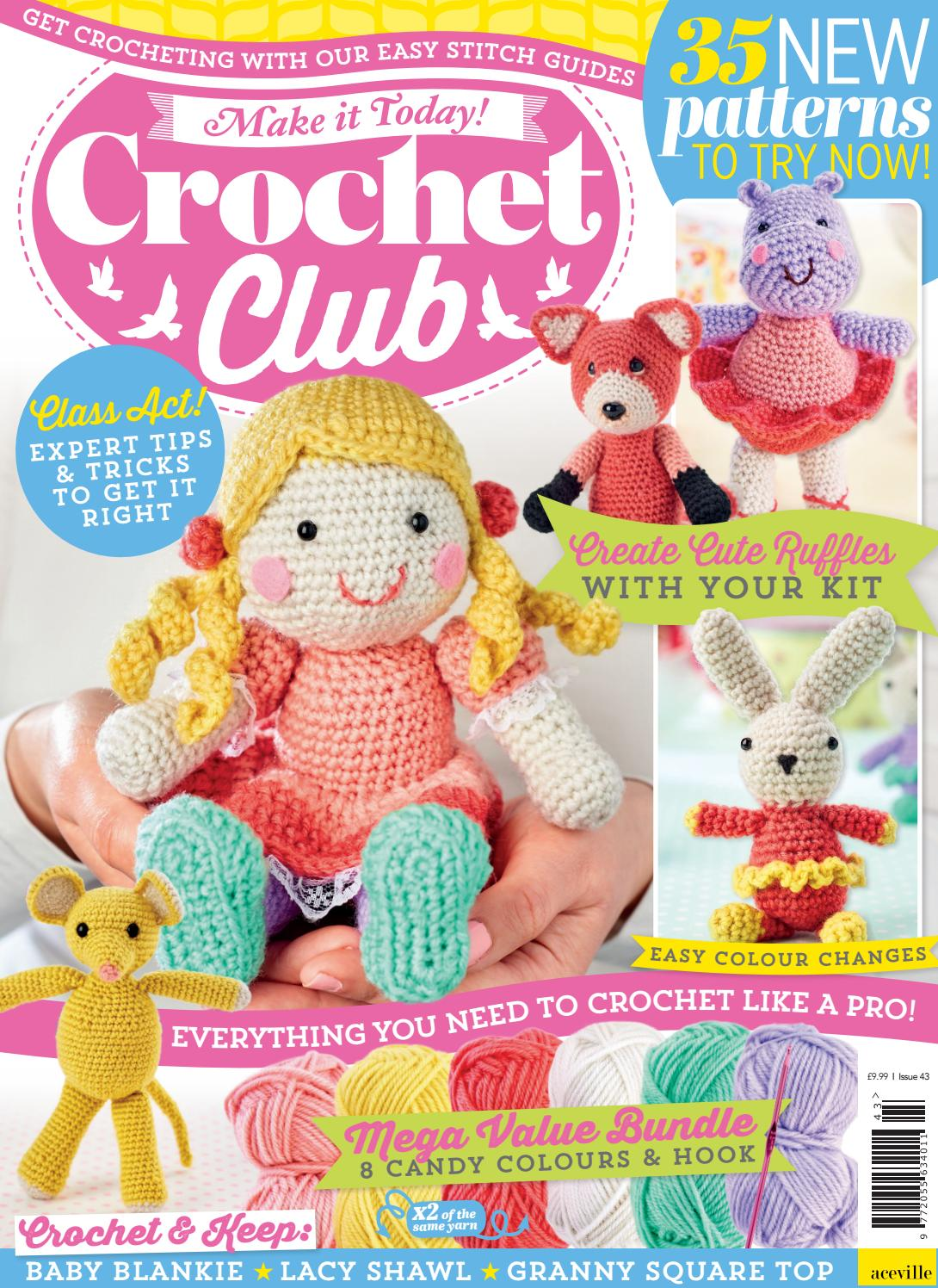 child friendly everything you need to get started Crochet kit for beginners