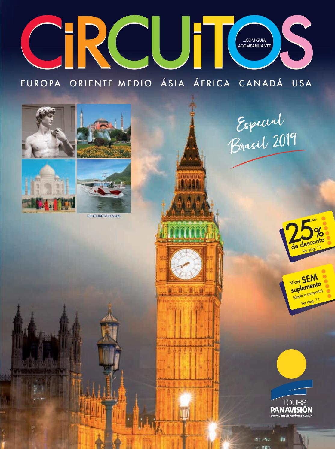 0d0408856 Roteiros Brasil 2019 by Panavision Tours - issuu