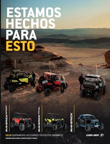 b80abe94cc0 Catalogo Maverick 2019 Accesorios Equipamiento Repuestos by Montemar ...
