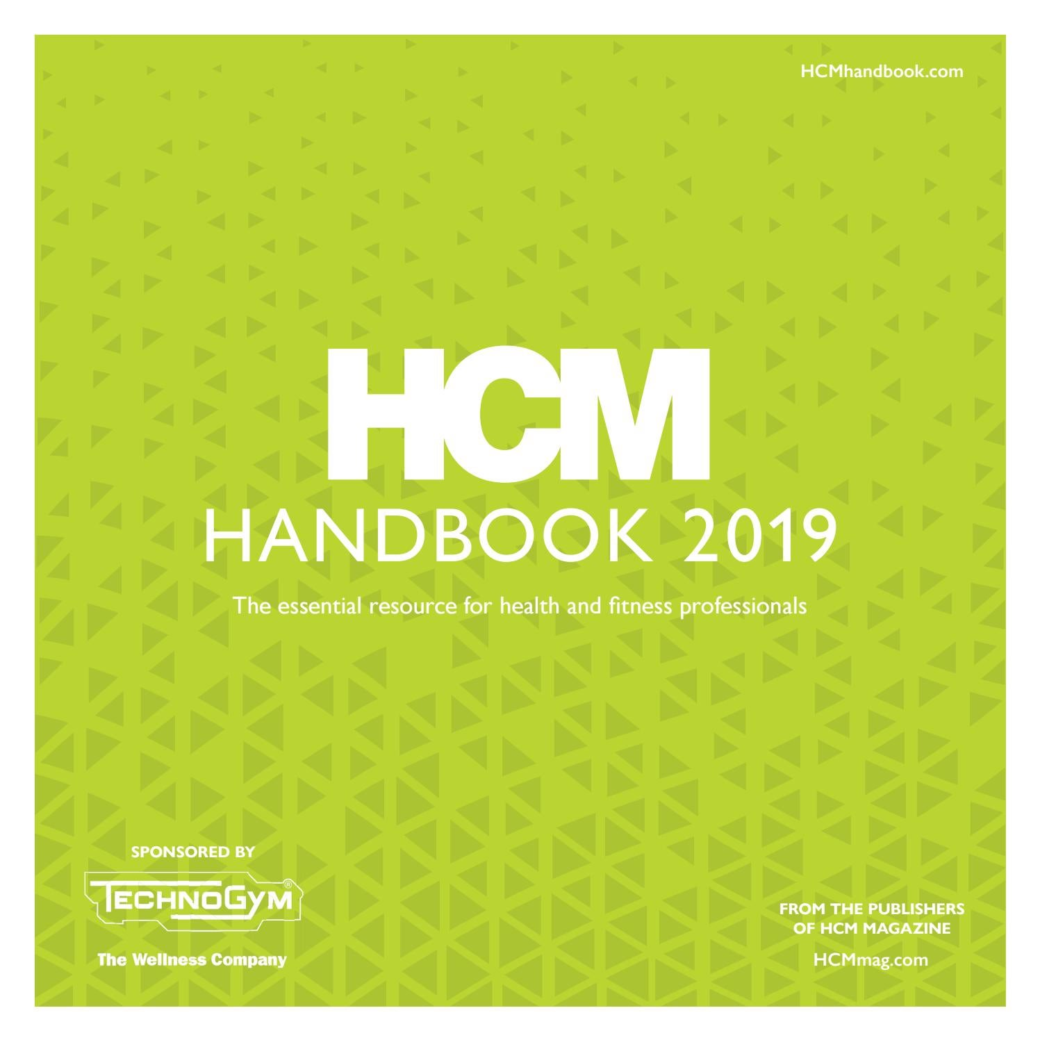 c0f2a4557a035c HCM Handbook 2019 by Leisure Media - issuu