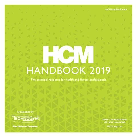 cb8cc925ad HCM Handbook 2019 by Leisure Media - issuu