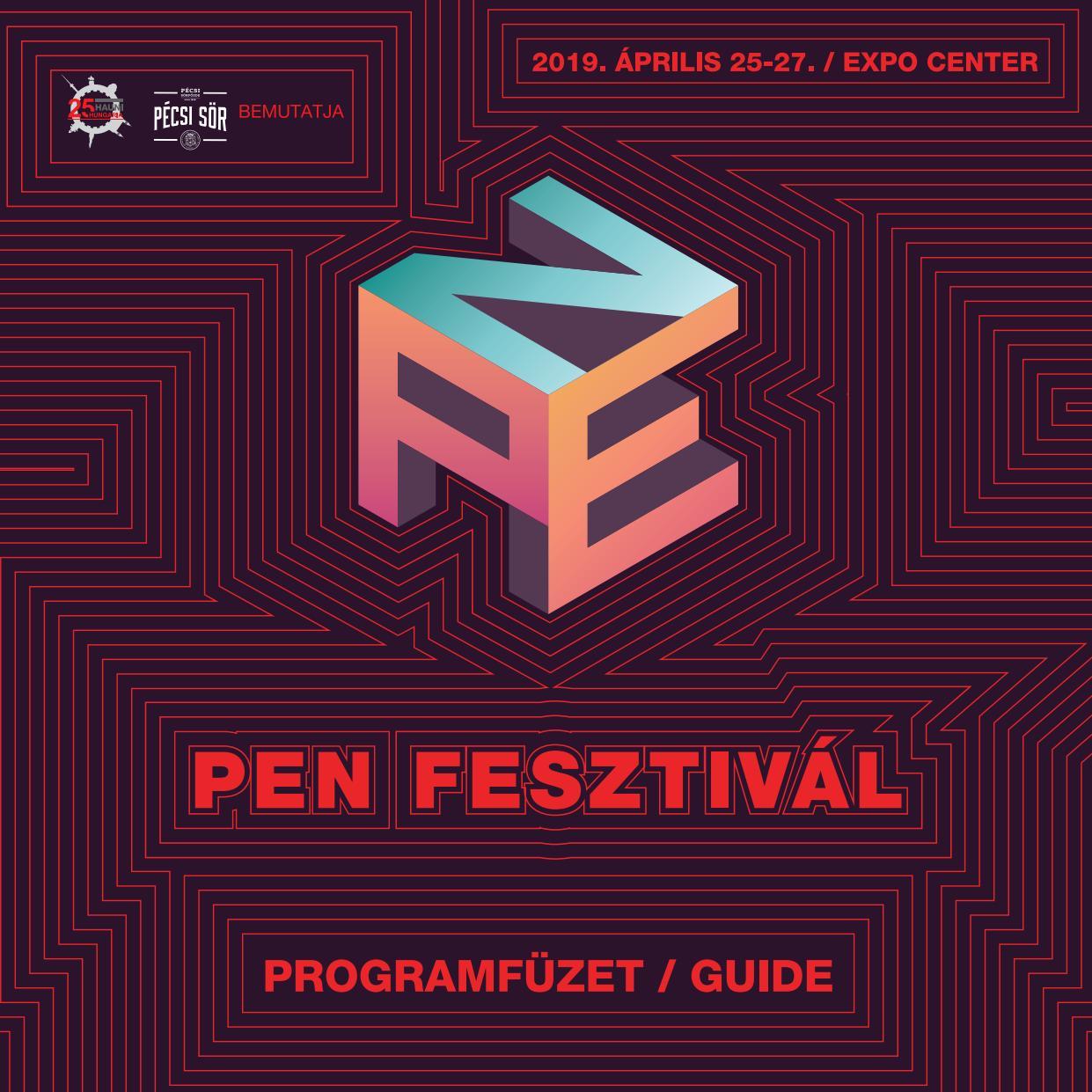 Pen Fesztival 2019 Programfuzet Pen Festival 2019 Guide By Made