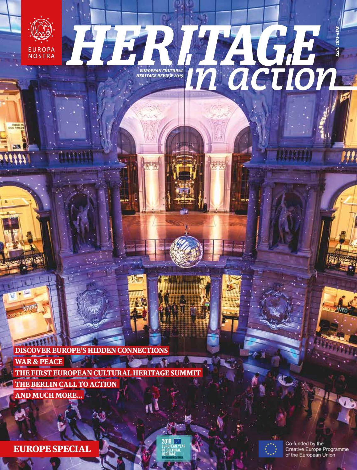 Heritage in Action Europe Special 2019 by Europa Nostra - issuu