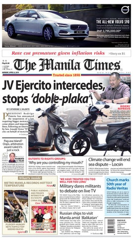 THE MANILA TIMES | APRIL 08, 2019 by The Manila Times - issuu