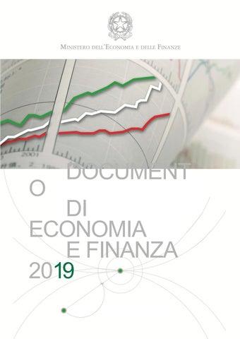 b10e346774 Page 1. O. DOCUMENT. DI ECONOMIA E FINANZA 2019