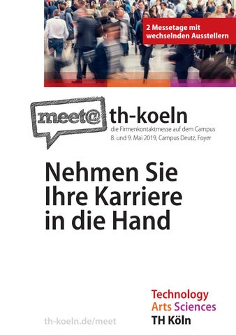 Messeguide Koeln 2019 2 By Iqb Career Services Ag Issuu