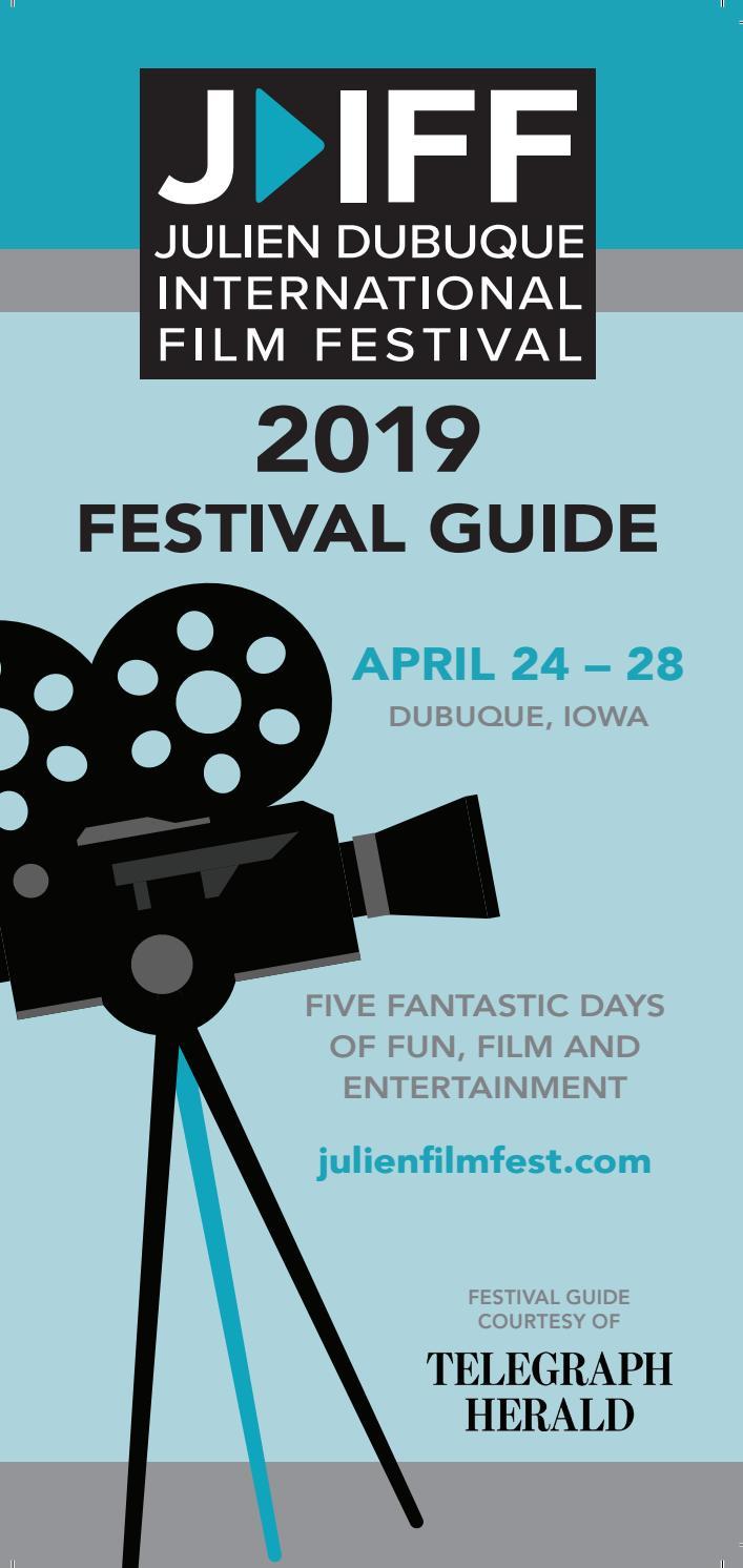 Julien Dubuque International Film Festival 2019 Program by