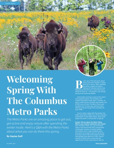 Page 10 of Welcoming Spring With The Columbus Metro Parks