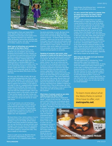 Page 11 of Welcoming Spring With The Columbus Metro Parks