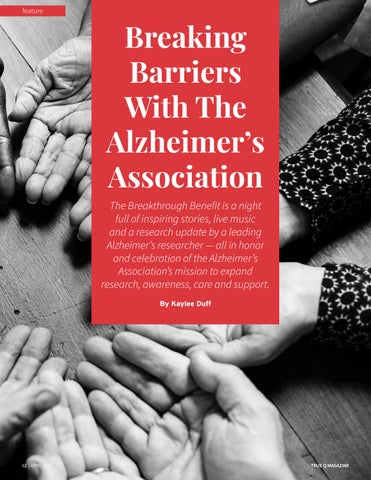 Page 14 of Breaking Barriers With The Alzheimer's Association