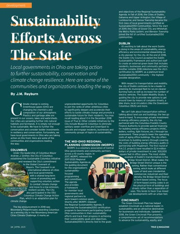 Page 16 of Sustainability Efforts Across The State
